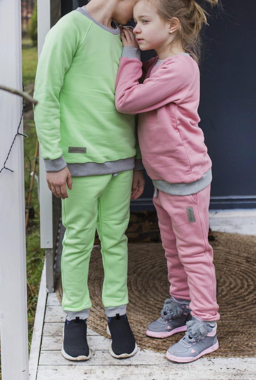 Spodnie dziecięce limonka - dresy odCZAPY Kids